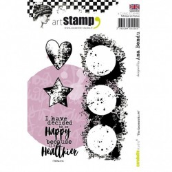 Carabelle cling stamp A6...