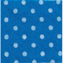 Panno 1mm 30x40cm Pois Blu...