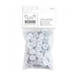Pearl Buttons (200pcs) -...