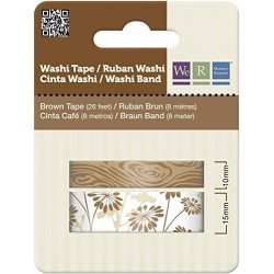 Washi Tape - Brown We R
