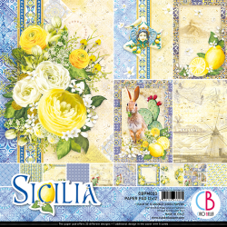 SICILIA DOUBLE-SIDED PAPER...