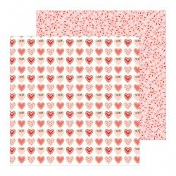 Pebbles patterned paper...