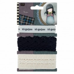 1m Trims (3pcs) - Santoro...