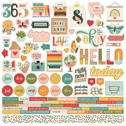 Hello Today - Cardstock...
