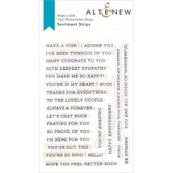 Altenew Sentiment Strips...