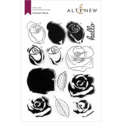 Altenew Cartoon Rose Stamp Set