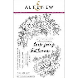 Altenew Just Because Stamp Set