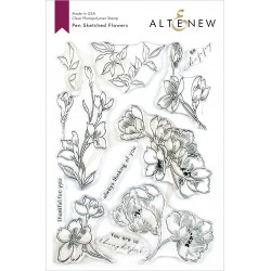Altenew Pen Sketched...