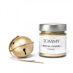 Tommy Metal Color Champagne...