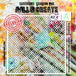 Stencil AALL and Create - 052